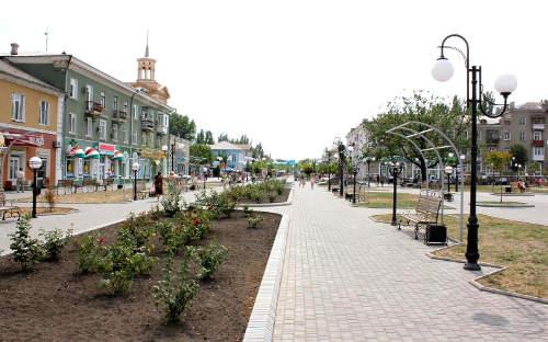 Частный сектор Бердянска